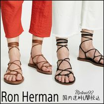 Ron Herman Casual Style Plain Leather Sandals Sandal