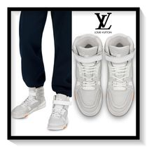 Louis Vuitton Blended Fabrics Plain Leather Sneakers