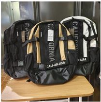 SPAO Casual Style Unisex Street Style Backpacks