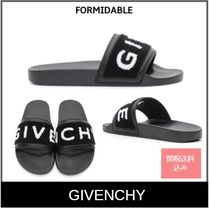 GIVENCHY Unisex Street Style Shower Shoes Shower Sandals