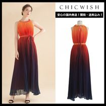 Chicwish Maxi Sleeveless Bi-color Long Elegant Style Dresses