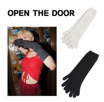 OPEN THE DOOR Unisex Street Style Gloves Gloves