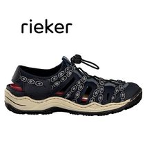 rieker Casual Style Street Style Plain Low-Top Sneakers