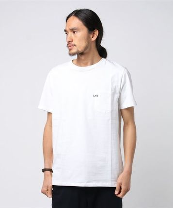 A.P.C. Crew Neck Crew Neck Plain Short Sleeves Crew Neck T-Shirts 6