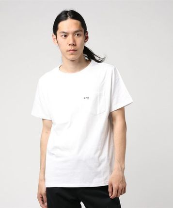 A.P.C. Crew Neck Crew Neck Plain Short Sleeves Crew Neck T-Shirts 7