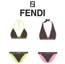 FENDI Monogram Halter Beachwear