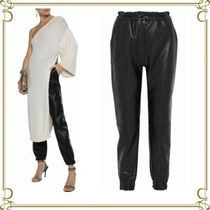 Stella McCartney Faux Fur Plain Long Elegant Style