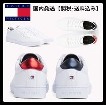 Tommy Hilfiger Casual Style Street Style Plain Low-Top Sneakers