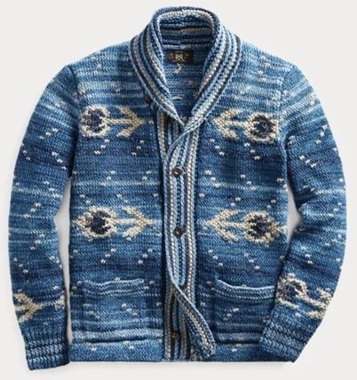 Street Style Cotton Tribal Surf Style Cardigans