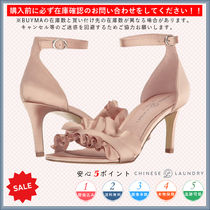 CHINESE LAUNDRY Open Toe Casual Style Plain Pin Heels Heeled Sandals