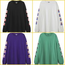 X-Large Street Style Long Sleeves Logos on the Sleeves T-Shirts