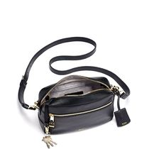 TUMI Plain Leather Crossbody Shoulder Bags