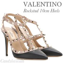VALENTINO Studded Leather Pumps & Mules