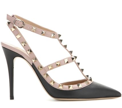 VALENTINO More Pumps & Mules Studded Leather Pumps & Mules 3