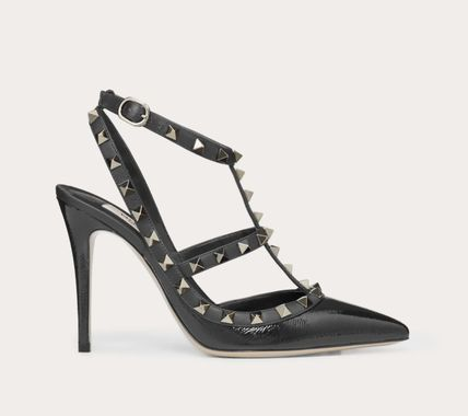 VALENTINO More Pumps & Mules Studded Leather Pumps & Mules 9