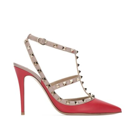 VALENTINO More Pumps & Mules Studded Leather Pumps & Mules 13