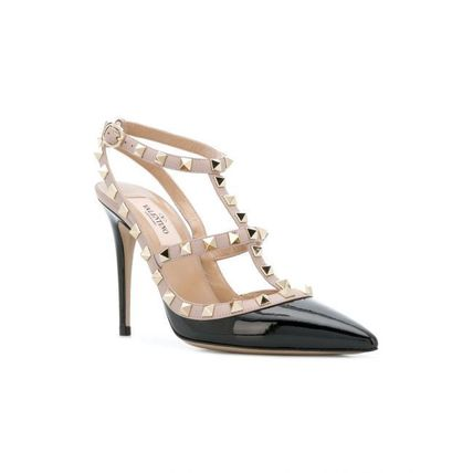 VALENTINO More Pumps & Mules Studded Leather Pumps & Mules 15