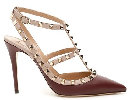 VALENTINO More Pumps & Mules Studded Leather Pumps & Mules 17