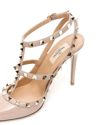 VALENTINO More Pumps & Mules Studded Leather Pumps & Mules 20