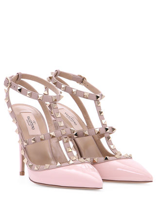 VALENTINO More Pumps & Mules Studded Leather Pumps & Mules 14