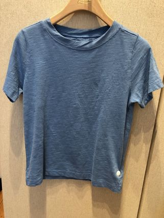 U-Neck Plain Cotton Medium T-Shirts