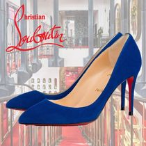 Christian Louboutin Pigalle Follies Suede Pin Heels Stiletto Pumps & Mules