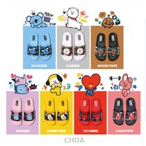 BT21 Shower Shoes Shower Sandals