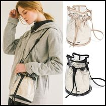 FRUIT OF THE LOOM Casual Style Unisex Street Style Plain Crystal Clear Bags