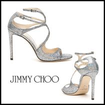 Jimmy Choo Open Toe Party Style Peep Toe Pumps & Mules