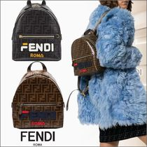 FENDI Monogram Backpacks