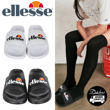 Casual Style Unisex Street Style Collaboration Shower Shoes