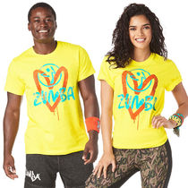 ZUMBA Unisex Yoga & Fitness Tops