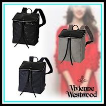 Vivienne Westwood Casual Style Blended Fabrics A4 Leather Home Party Ideas