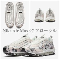 Nike AIR MAX 97 Flower Patterns Casual Style Street Style Low-Top Sneakers