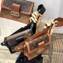 Louis Vuitton BUMBAG Monogram Canvas Blended Fabrics 2WAY Bi-color Elegant Style