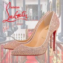 Christian Louboutin Pigalle Follies Pin Heels Elegant Style Stiletto Pumps & Mules