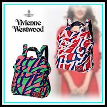 Vivienne Westwood Casual Style Blended Fabrics A4 Home Party Ideas Backpacks