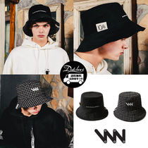 WV PROJECT Unisex Street Style Bucket Hats Hats & Hair Accessories