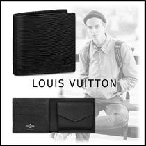 Louis Vuitton 2019-20AW MARCO WALLET black one size wallet