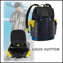 Louis Vuitton 2019-20AW CHRISTOPHER BACKPACK PM black one size backpack