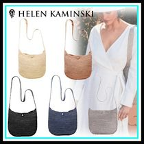 HELEN KAMINSKI Casual Style Blended Fabrics Home Party Ideas Shoulder Bags