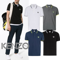 KENZO Pullovers Street Style Cotton Short Sleeves Polos