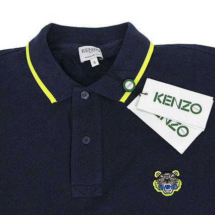 KENZO Polos Pullovers Street Style Cotton Short Sleeves Polos 5