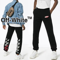 Off-White Street Style Cotton Oversized Bottoms