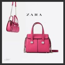 ZARA Casual Style 2WAY Chain Plain Other Animal Patterns