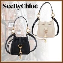 See by Chloe Casual Style 3WAY Plain Leather Purses Handbags