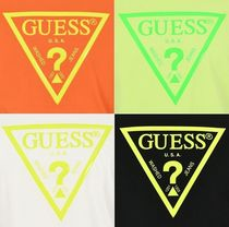 Guess More T-Shirts Unisex Street Style Short Sleeves T-Shirts 17