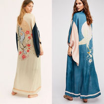 Free People Long Sleeves Other Animal Patterns Long Gowns Cardigans