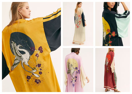 Long Sleeves Other Animal Patterns Long Gowns Cardigans