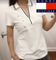 Tommy Hilfiger Casual Style Plain Medium Polo Shirts